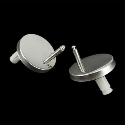 1 Pair Of Quality Top Fix WC Toilet Seat Hinges Fittings Quick Release Hinge