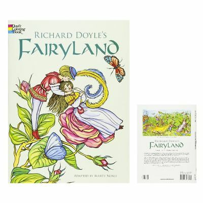 Coloring Books For Adult Fairyland Patterns Art Design Painting Stress Relaxing