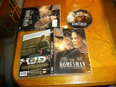 The Homesman (DVD, 2015, Canadian)