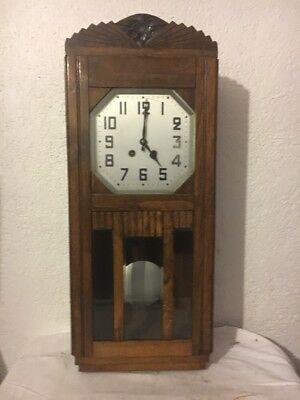 Ancienne Horloge Carillon French Antique