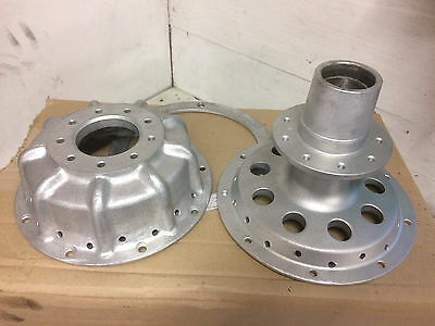 1975 Bultaco Pursang MK8 Rear Hub & Brake Drum
