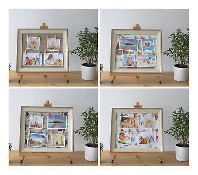 SMALL DIY PEG Photo Frame 30 x 40cm Picture Multiple Hanging ...