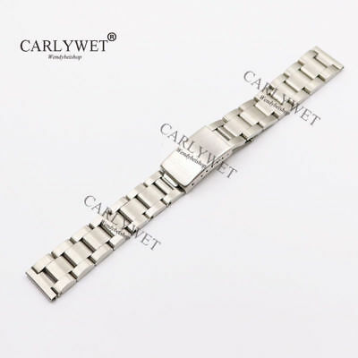 17 18 19 20mm Watch Band Straight End Old Style Oyster Bracelet For Brand Watch