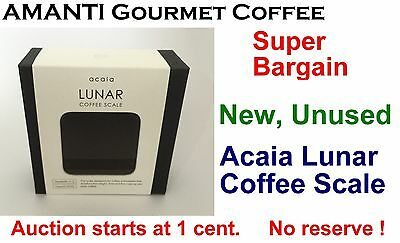 SUPER BARGAIN NEW Acaia Lunar Coffee Scale Coffee Gateway + BONUS AMANTI Coffee