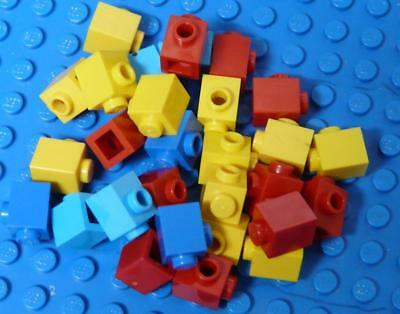 LEGO Brick, Modified 1 x 1 with Stud on 1 Side Assorted x29PC