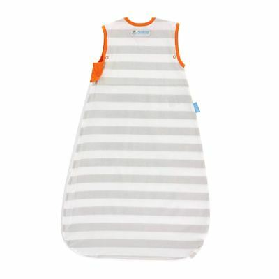 Grobag Baby Sleeping Bag - Grey Stripe Design Insect Shield 18-36 Months 0.5 Tog