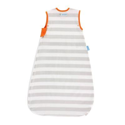 Grobag Baby Sleeping Bag - Grey Stripe Design Insect Shield - 0-6 Months 0.5 Tog