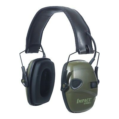 Howard Leight Impact Sport OD Electric Shooting Earmuff Sound Amplification