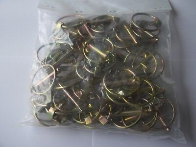 50 Pc LINCH LYNCH PINS FOR TRACTORS/ AUTOMOTIVE / TRAILERS