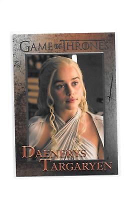 Game of Thrones Season 5 Daenerys Targaryen #41 Base Card