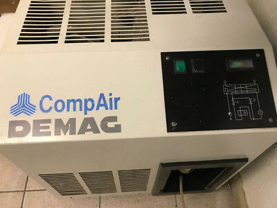 CompAir Demag Compressed Air Dryer ADX 014 Compressor good condition inc manual
