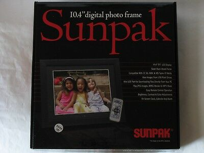 "Sunpak 10.4"" Digital Photo Frame SF-104-42001SL"