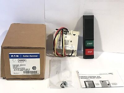 Eaton Cutler Hammer C400GK1 Series A2 Freedom Cover Control Kit Start Stop