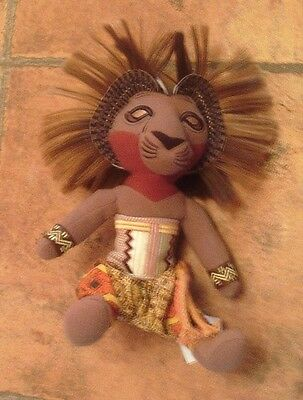Disney's The Lion King The Broadway Musical Simba In Native Costume - New