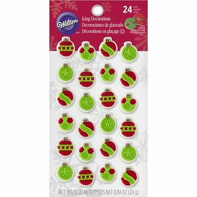 Wilton Icing Decorations - Christmas Ornaments
