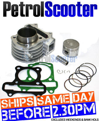 Big Bore Barrel Kit 50cc - 72cc Scooter Shineray Strada Sukida Taishan Vonroad