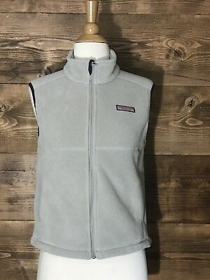 Vineyard Vines Martha's Vineyard Preppy Gray  Fleece Vest Boys|Girls Size L