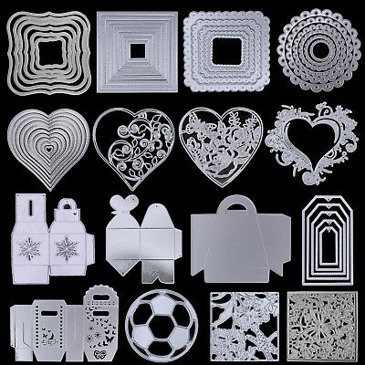 Frame Metal DIY Cutting Dies Stencil Scrapbook Album Paper Card Embossing Craft
