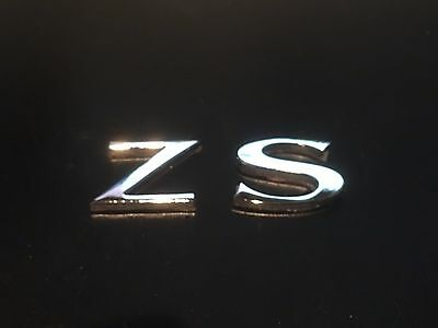 ZS MK2 LE500 Style Inserts Front Rear 59mm//95mm  Badges Carbon White MG ZR