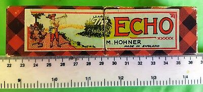 """Made In England """"echo"""" M. Hohner - Bell Metal Reeds/tremolo Tuning"""
