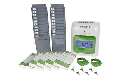 U-Punch Time Cards Payroll Accounting Holder Employee Management Record Tracking