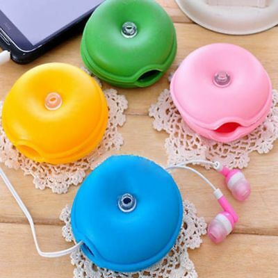 Wrap Organizer Turtle Clips Box Lovely Cable Wire Winder Headphone