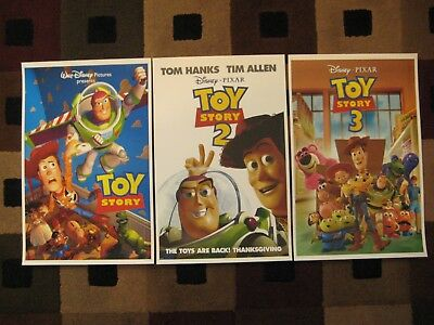 "Toy story (11"" x 17"") Movie Collector's Poster Prints ( Set of 3 )"