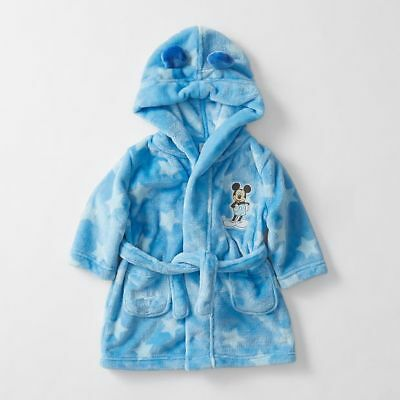 NEW Disney Baby Mickey Mouse Dressing Gown