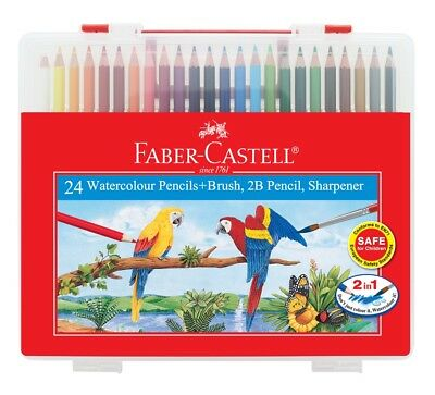 Faber-Castell 24 Watercolour Pencils in Wonder Box
