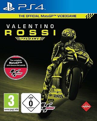 PS4 Valentino Rossi The Game Moto Gp 16 2016 PLAYSTATION 4 Nuovo e Conf. Orig.