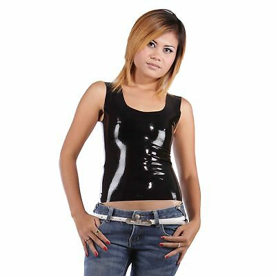 Brand New Latex Rubber Classic Undershirt (Muscle shirt) (one size)