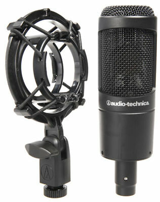 Audio-Technica AT2035 Large Diaphragm Cardioid Condenser Microphone Mic