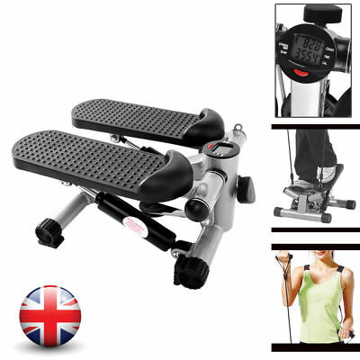 Exercise Mini Stepper Machine Workout Fitness Body Leg Air Stair Swing Stepper