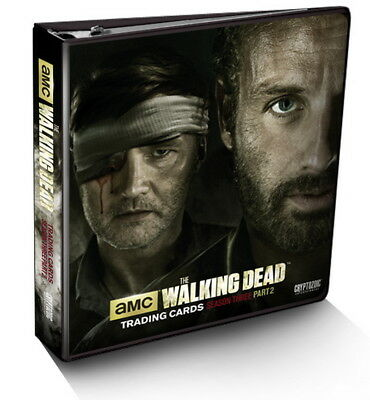 2016 Walking Dead Season 3 Part 2 Trading Card Binder + Exclusive M52 Wardrobe
