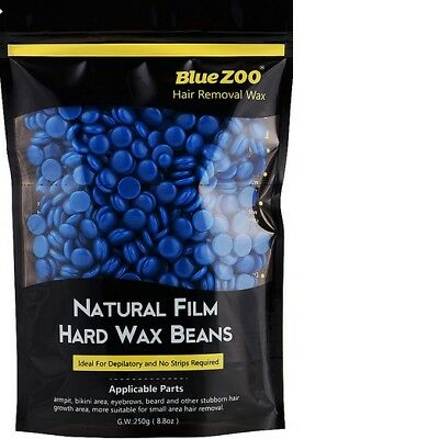 BlueZoo Wax Pallets Hair Removal brazillian Hard Wax Beans Chamomile - 250 gm