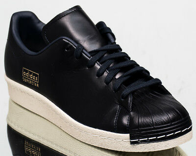 f3d9114f8 adidas Originals Superstar 80s Clean men lifestyle sneakers NEW black ink  CQ2171