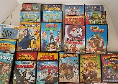 10 DVD lot ALL DISNEY, Finding Nemo/Cars/The Lion King ...  |Dreamworks Disney Dvd Collection