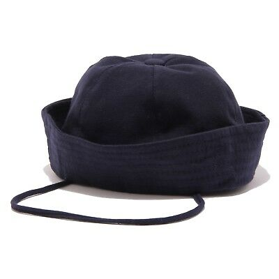 9874U cappello bimbo REGINA cuffia cotton blu hat kid