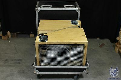 Custom Speaker Set in Flightcase Delta W112 F Blank JBL E120 300W