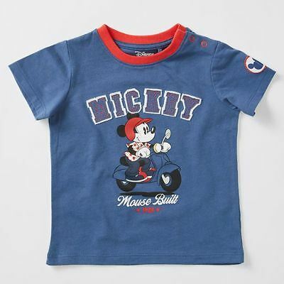 NEW Disney Baby Mickey Mouse Badge T-Shirt