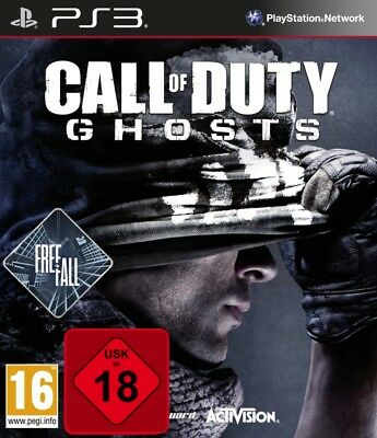 PS3 Call of Duty: Ghosts Free Fall Edition New & Sealed Playstation 3