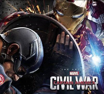 Marvel's Captain America: Civil War: The Art of the Movie - Brand New Pre Order