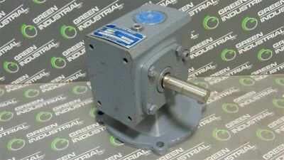 USED Boston Gear F71320B5G C-Face Right Angle Gearbox Reducer 20:1 Ratio