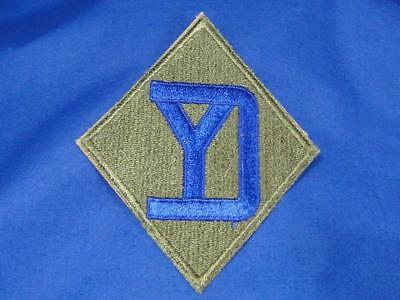 """Original WW2 Vintage U.S. Army Military Patch """"26TH DIVISION"""" Infantry A77"""