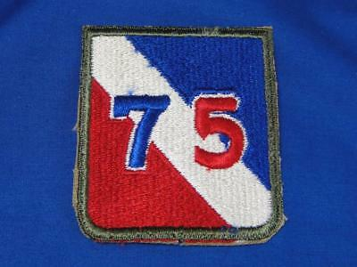 """Original WW2 Vintage U.S. Army Military Patch """"75TH DIVISION"""" Infantry A123"""