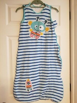 Grobag from The Gro Company Baby Sleeping Sack 18-36 months Blue stripe 2.5 TOG