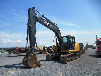 2010 John Deere 160DLC Hydraulic Excavator, Very Clean, 4683 HR, Well Maintained
