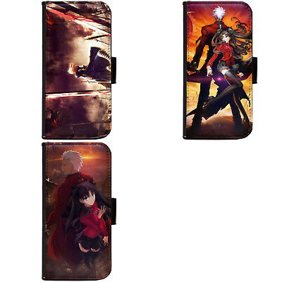 Anime Fate/Stay Night Fate/Zero Hülle Case Flip Cover Wallet A for Samsung
