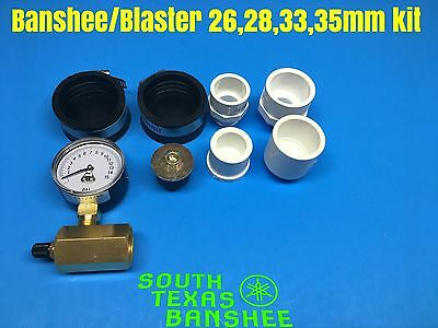 Banshee Blaster  YZ125 250 Etc... 26mm Carb to 39mm Carburetor leakdown kit