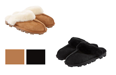 Kirkland Signature Women's Genuine Shearling Slippers, Variety Colors & Sizes!!!
